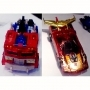 Transformers Henkei Clear Optimus Prime & Rodimus Web Ltd